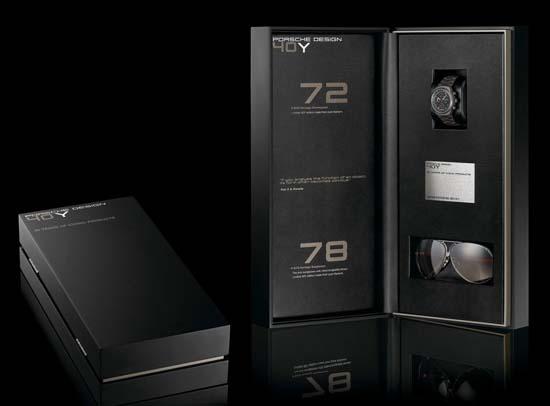Porsche Design Unveils Collector's Box for 40th Anniversary
