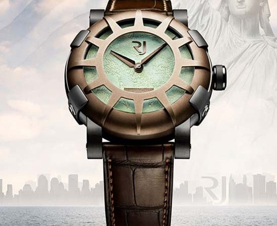 Romain Jerome Watch Inspired by Statue of Liberty