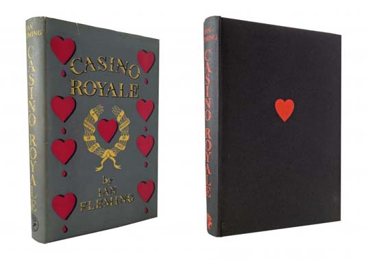 First Edition of Casino Royale Book is up for $78,000