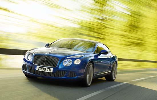 Watch: The New 2013 Bentley GT Speed