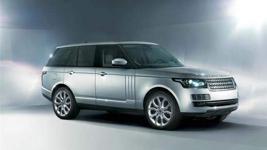 2013 Range Rover Officially Unveiled