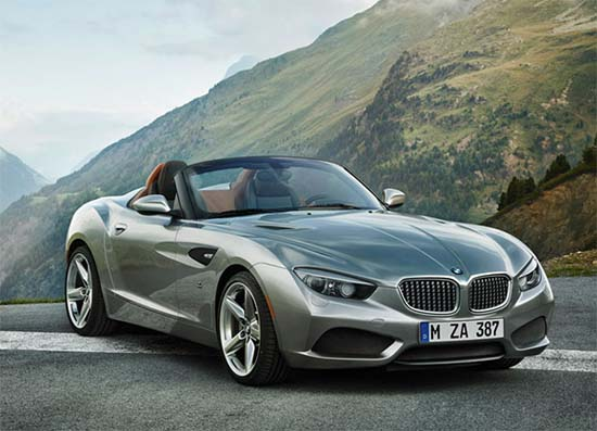 BMW Zagato Roadster unveiled at Pebble Beach