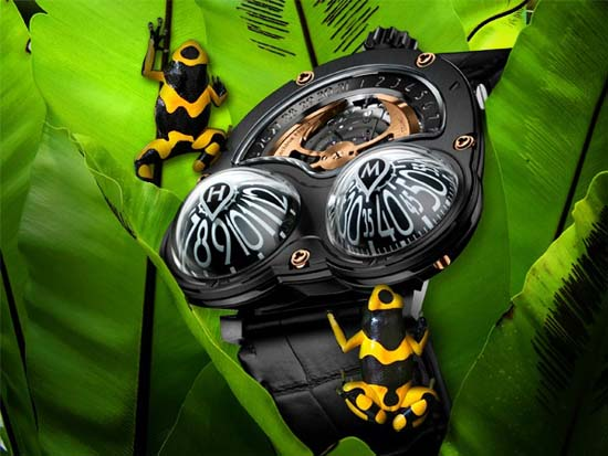 MB&F Limited Edition HM3 Poison Dart Frog Watch