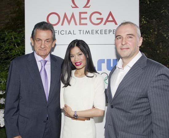 Vanessa-Mae is the new Omega Brand Ambassador