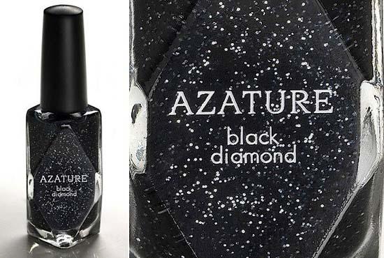 Most Expensive Nail Polish $250000 Black Diamond Azature ...