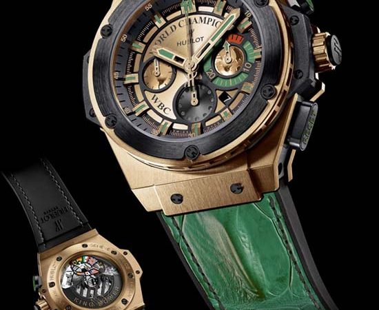 Hublot and WBC team up for the ultimate knockout