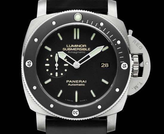 Officine Panerai Luminor Submersible 1950 Amagnetic Titanium