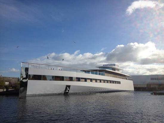 Steve Jobs' Yacht Venus Launched in the Netherlands