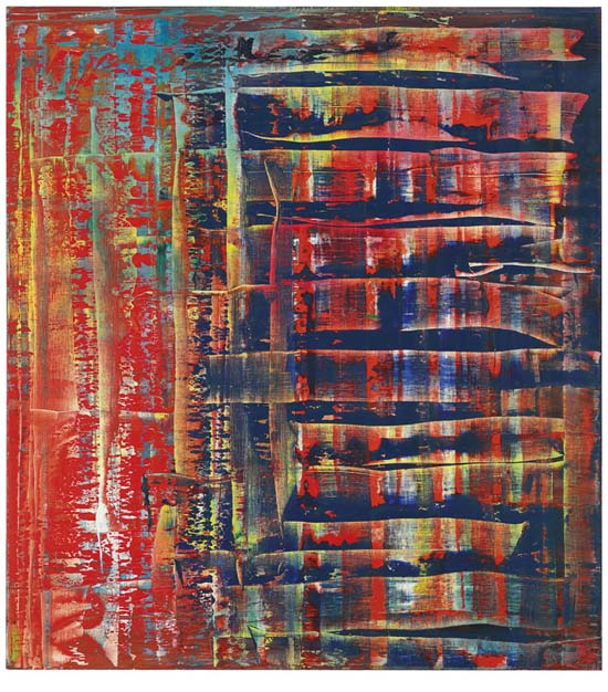 an analysis of gerhard richters painting woman descending the stair case But it is gerhard richter's ema (nude descending a staircase) (1992) that  always stops me  something about the image triggers in my mind the idea of  art's ability to draw one into the  there must be meaning in process.