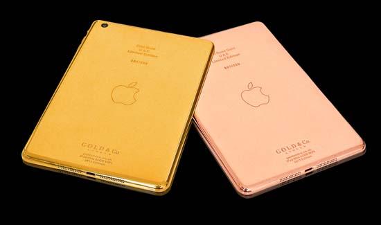 World's First 24kt Gold iPad Mini