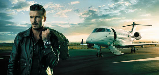 Breitling's Newest Ambassador Is David Beckham