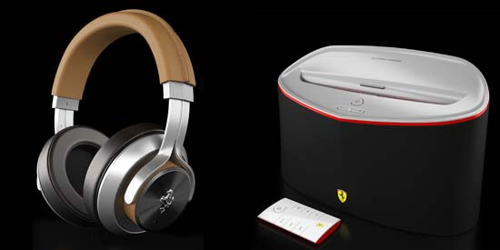 Ferrari By Logic3 Unveils New Headphones, Speaker Dock
