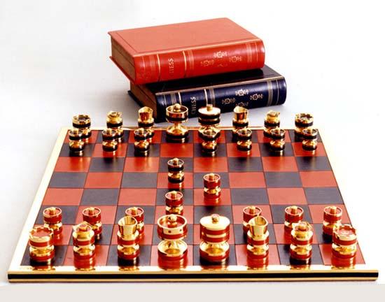 $77,880 Silver Jubilee Chessboard by Geoffrey Parker