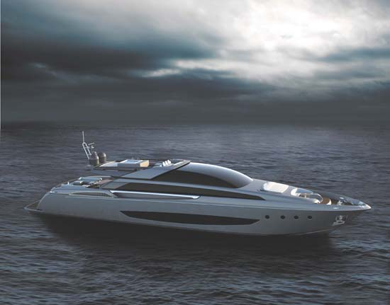 New Riva 122′ Superyacht Mythos