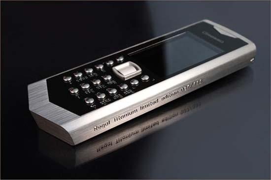 Gresso unveils Regal Titanium Limited Edition Phone
