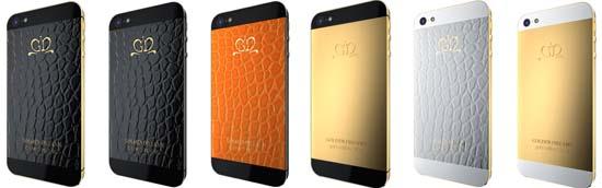 Golden Dreams unveils custom iPhone 5