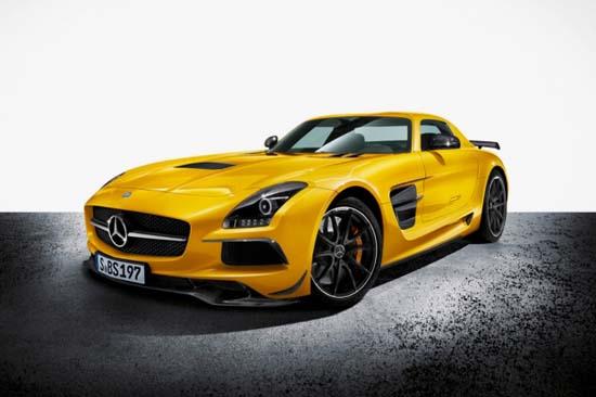 Mercedes-Benz Unveils The New SLS AMG Black Series