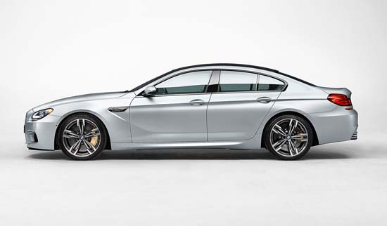 2014 BMW M6 Gran Coupe Revealed