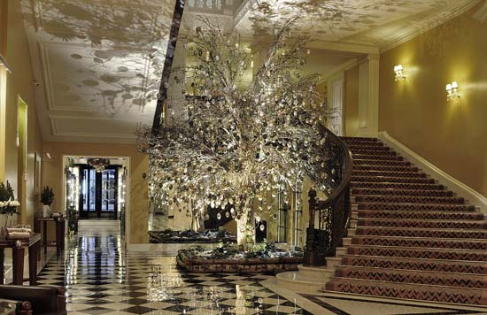 Claridge's Christmas Tree 2012 by Kally Ellis