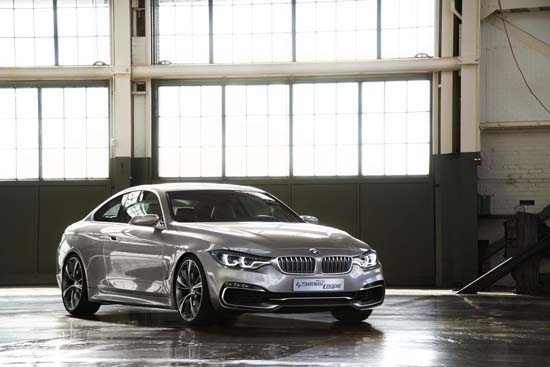 BMW Concept 4 Series Coupé Revealed