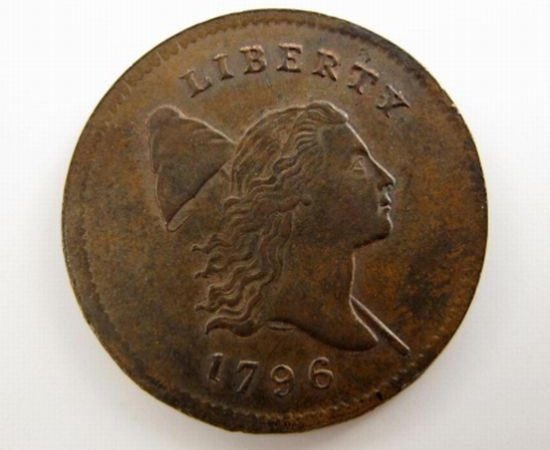 Rare 1796 U.S. Half-Cent coin sells for over $350,000