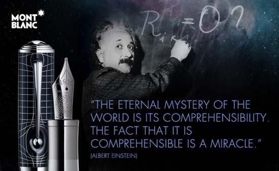 Montblanc Albert Einstein Limited Edition