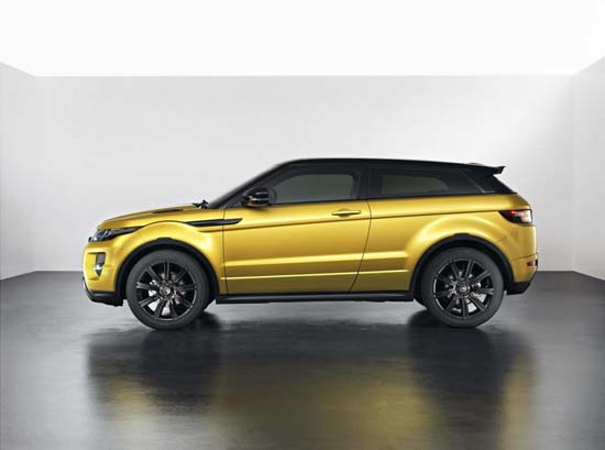 range rover evoque sicilian yellow limited edition luxuryes. Black Bedroom Furniture Sets. Home Design Ideas
