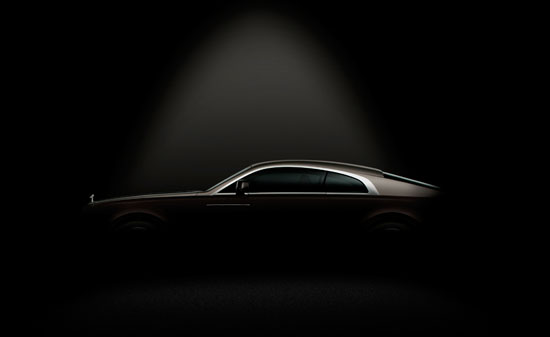 Rolls Royce Wraith – First Official Image
