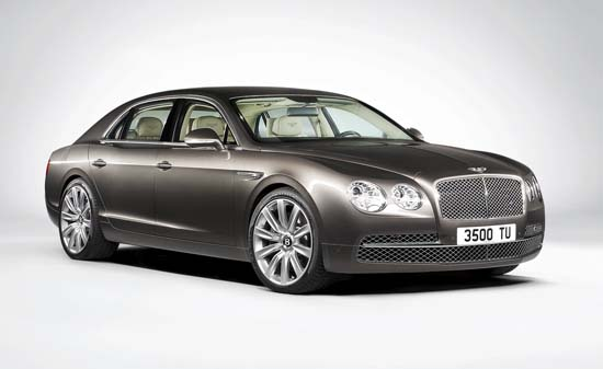 Bentley reveals  the All-New Flying Spur