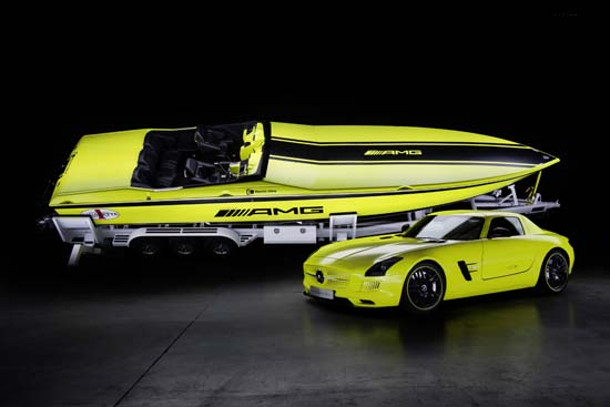 Mercedes-Benz launches Cigarette AMG Electric Drive Powerboat