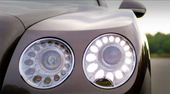 2014 Bentley Continental Flying Spur – New Teaser Video
