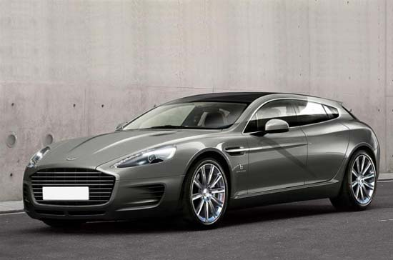 Bertone reveals one-off Aston Martin Jet 2+2