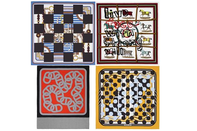 COMME des GARÇONS x Hermès Scarf Collection
