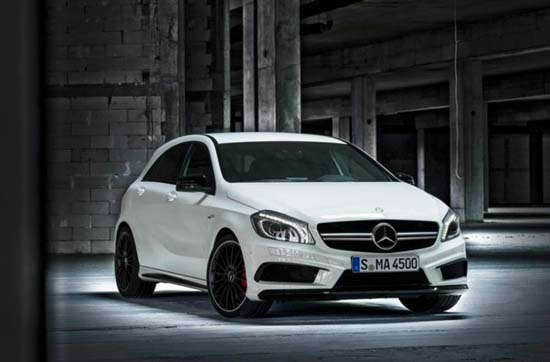 2014 Mercedes-Benz A45 AMG Revealed