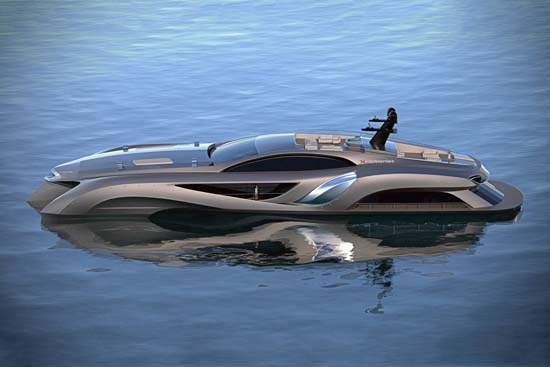 Xhibitionist Superyacht Concept by Gray Designs
