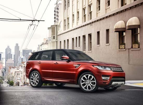 All-New 2014 Range Rover Sport Revealed