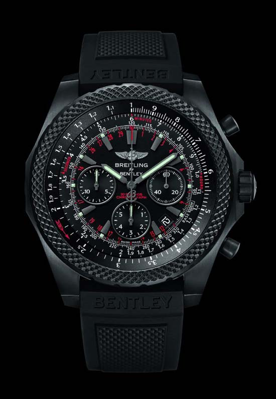 Breitling for Bentley: power package in black