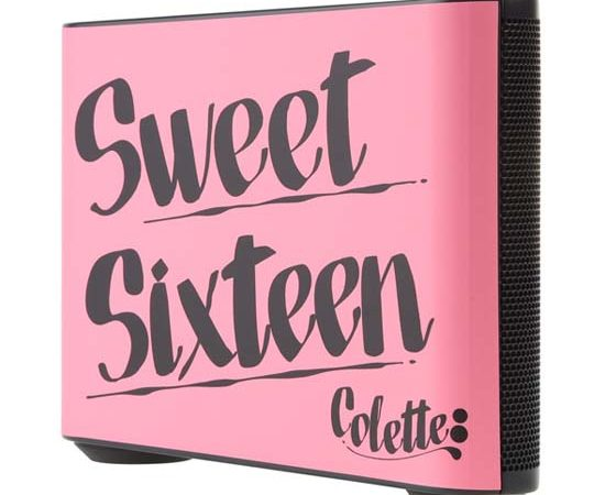 "Limited Edition Beatbox ""Sweet Sixteen"" Beats by Dr Dre x colette"