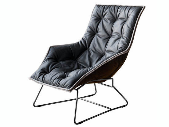 Maserati Lounge Chair by Zanotta - Luxuryes