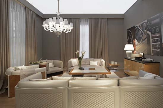 Bentley home collection x club house italia luxuryes for De carlo arredamenti