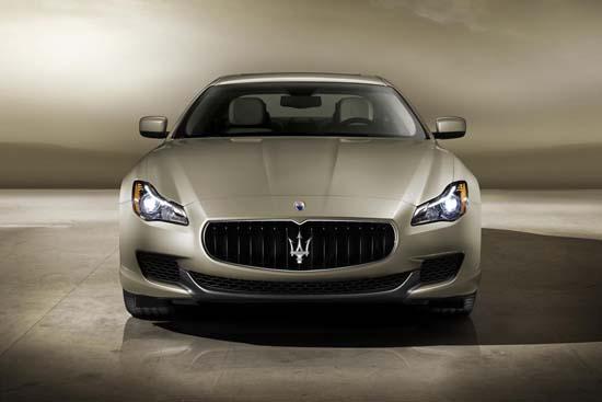 2014 Maserati Quattroporte by Ermenegildo Zegna