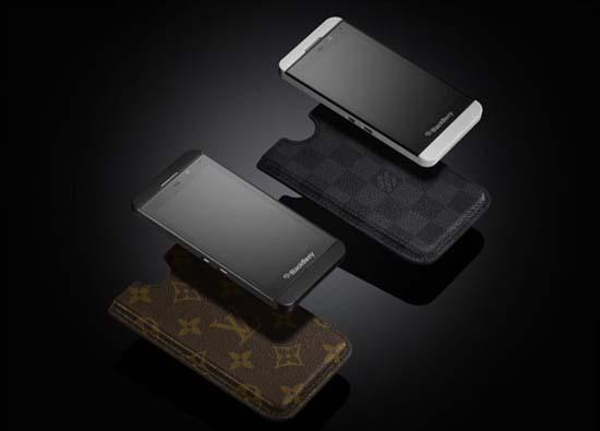 Louis Vuitton unveils case for Blackberry Z10