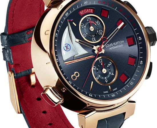Louis Vuitton Tambour Spin Time Regatta for Only Watch 2013