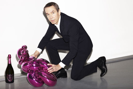Jeff Koons x Dom Pérignon Collaboration