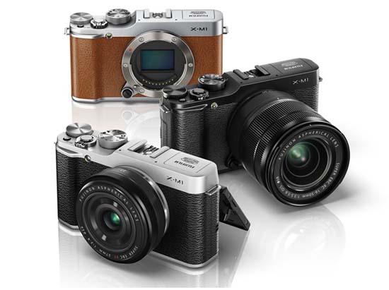 Fujifilm Unveils The New X-M1 Retro-Styled Camera