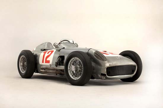 Fangio F1 Mercedes W196 Becomes The Most Expensive Car Ever Sold at Auction $30 Million