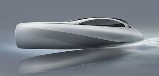 Mercedes-Benz Silver Arrows Marine Granturismo Luxury Yacht