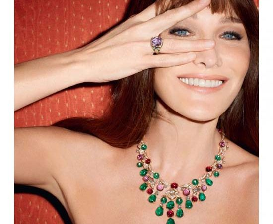 Carla Bruni plays the Diva for Bulgari Campaign