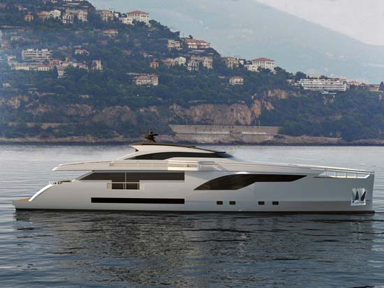 Luxury motor yacht Wider 122 by Wider Yachts