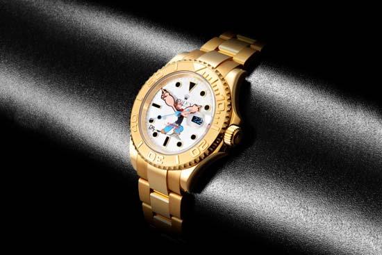 DRxRomanelli x Bamford Watch Department – Popeye Rolex Yachtmaster